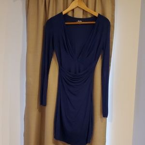 Lulus deep v mini dress